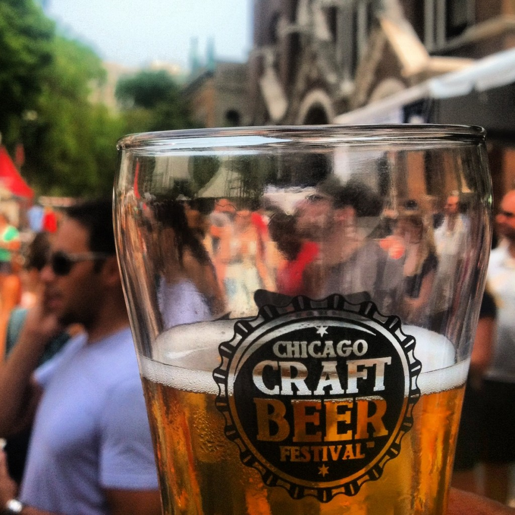 The Chicago Craft Beer Festival at St Michael's Church in Old Town