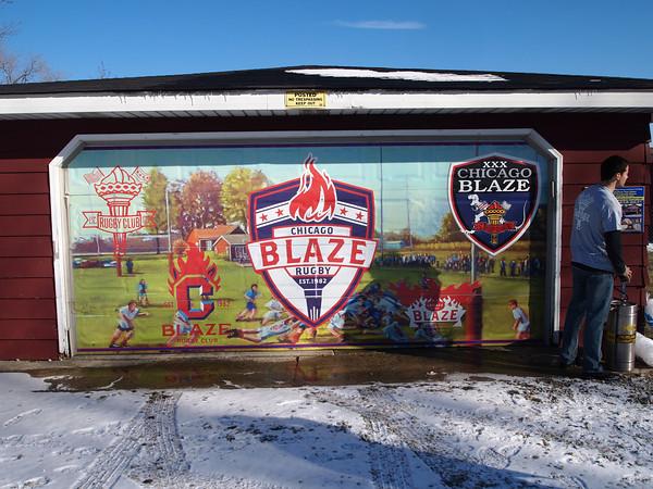 Chicago Blaze Rugby Club Est. 1982