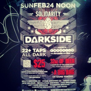 Solidarity: Darkside at Emporium Arcade Bar