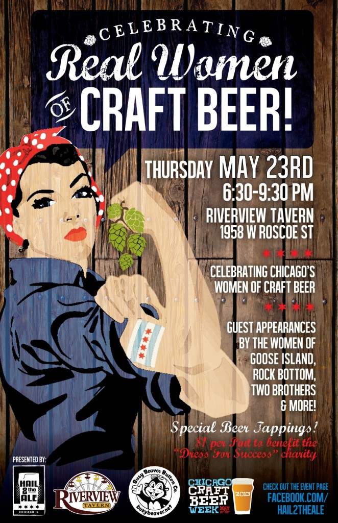 Celebrating Chicago's Women of Craft Beer  @ Riverview Tavern | Chicago | Illinois | United States