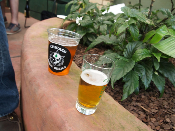 Beer Under Glass- Opening Ceremonies of Chicago Craft Beer Week at Garfield Park Conservatory