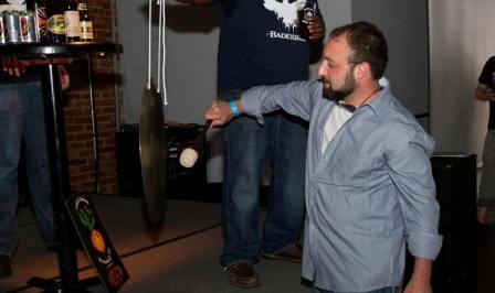 before you go home home w that righteous raffle prize you just won..yes..you must hit the gong