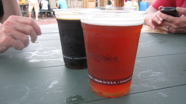 Bell's Java Stout and Sparkleberry
