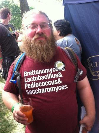 coolest tshirt of the day probably belonged to this guy.