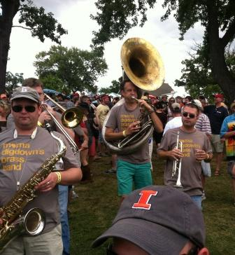 Mama's Digtown Brass Band
