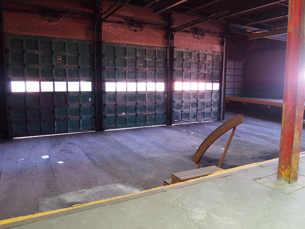 The brewery includes a loading dock that could be home to a farmers market in the future