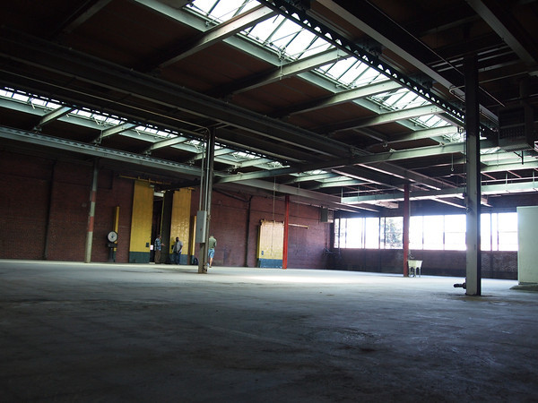 The 9300sq ft space was once home home to The Glass Factory