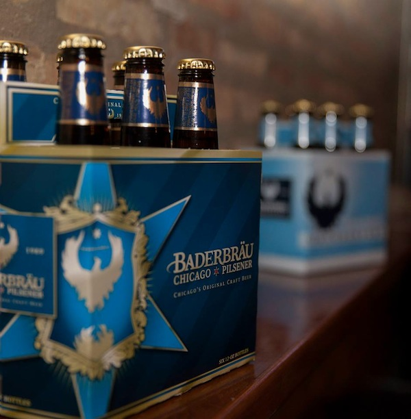 Baderbrau's Chicago Pilsener and their award winning Oktoberfest at the Beer and Bacon showcase at Beer Bistro North