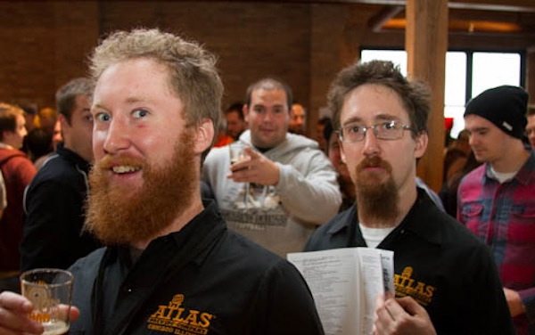 Ben and John Saller of Atlas Brewing