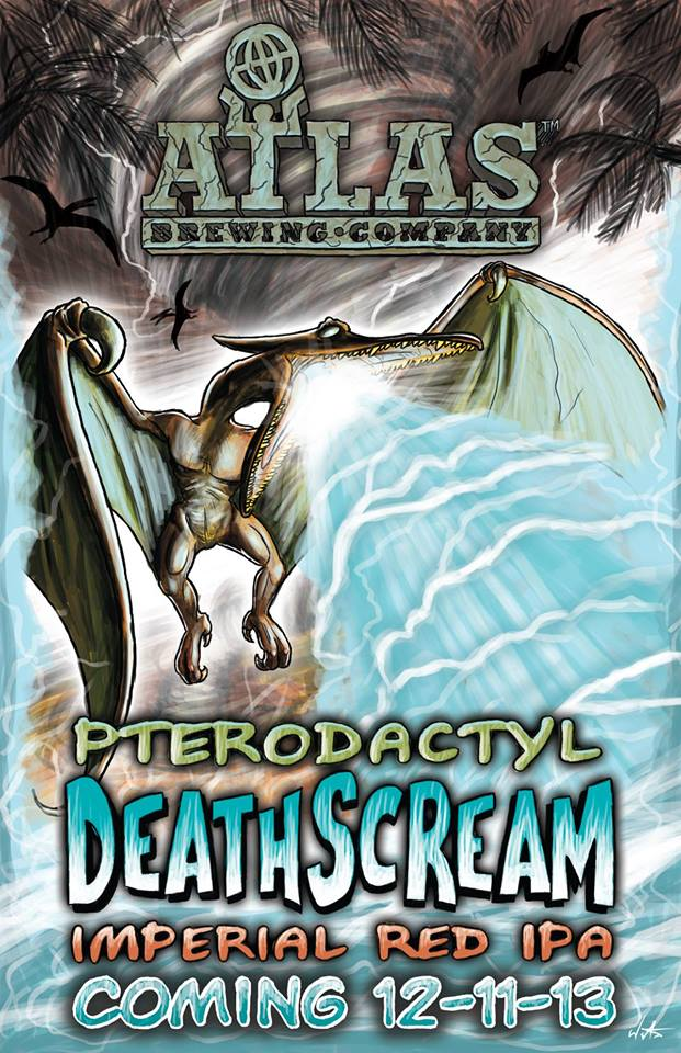 Pterodactyl Deathscream Imperial Red IPA Release Party @ Atlas Brewing | Chicago | Illinois | United States