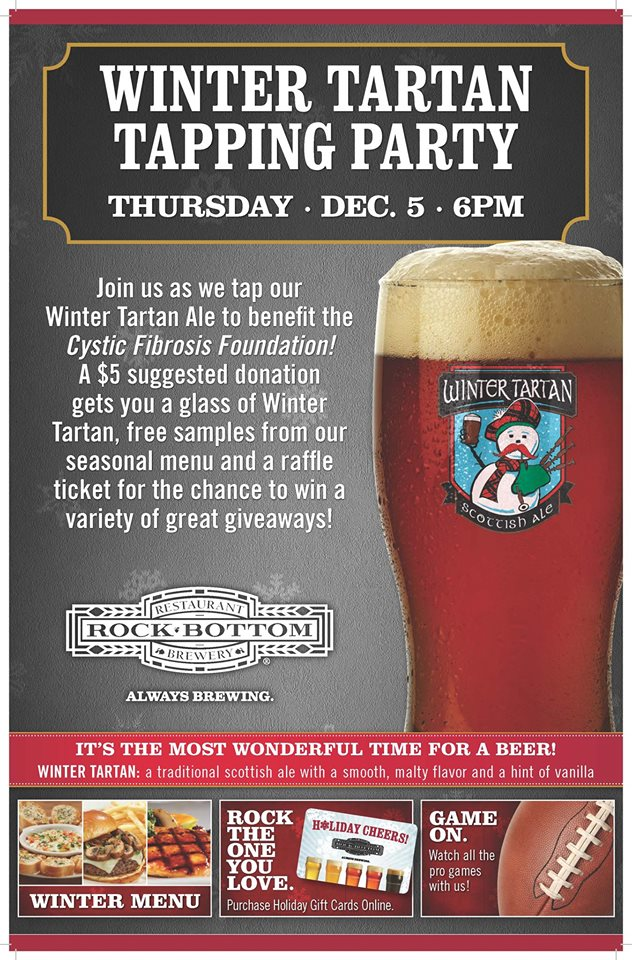 Winter Tartan Tapping Party @ Rock Bottom Brewery Chicago | Chicago | Illinois | United States