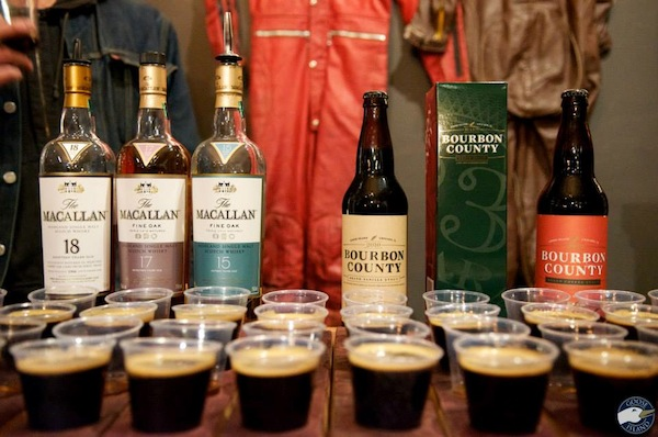 The Macallan and Goose Island bring out a rediculous list of scotch and beer to pair..all proceeds benefit the Lincoln Park Homeless Shelter