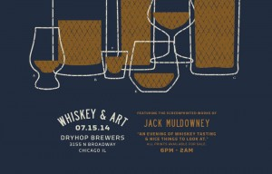 Whiskey and Art @ DryHop Brewers | Chicago | Illinois | United States