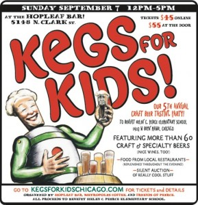 5th Annual Kegs For Kids @ Hopleaf | Chicago | Illinois | United States