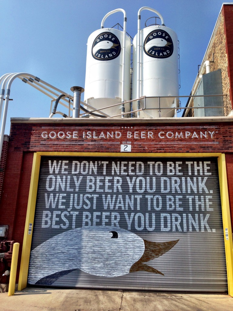 Pitchfork 2014 started with a pre party at Goose Island's production facility.