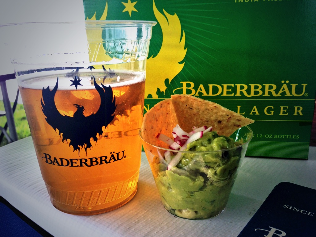 Baderbrau Lawnmower Lager and Big Star's Chips and Guac at CCBW Opening Ceremonies in Garfield Park