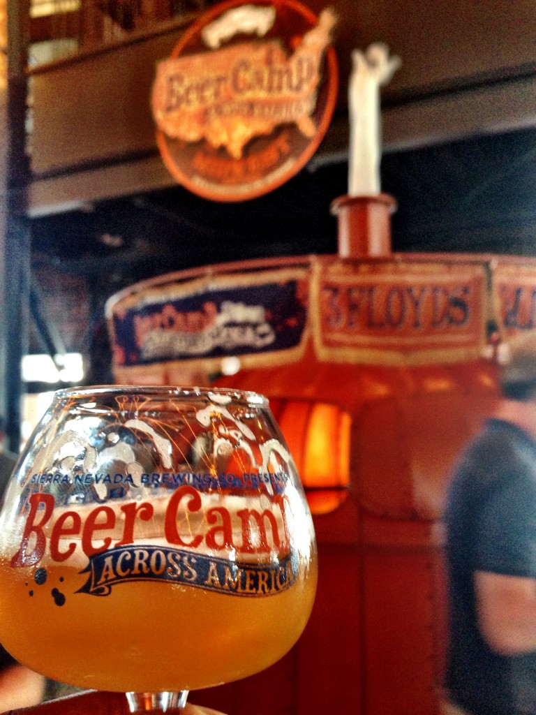 Sierra Nevada Beer Camp Across America. July 19th -August 3rd, 2014.  A traveling 7 city festival. Chico, CA, San Diego, CA, Denver, CO, Chicago,IL, Portland, ME, Philadelphia, PA and Mills River, NC