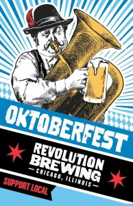 Revolution Brewing Oktoberfest feat The Bolzen Beer Band @ Sheffields Beer Garden | Chicago | Illinois | United States