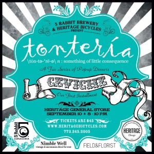 5 Rabbit Presents Tonteria @ Heritage General Store | Chicago | Illinois | United States