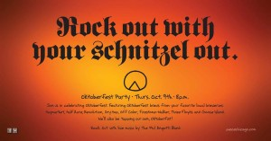 Oktoberfest Party @ Piece Pizzeria and Brewery | Baltimore | Maryland | United States