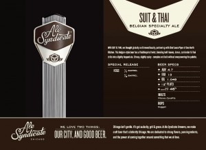 Suit And Thai Release Party @  One North Kitchen & Bar | Chicago | Illinois | United States