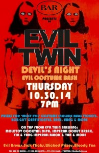 Evil Twin's Devils Night Costume Bash @ The Bar On Buena | Chicago | Illinois | United States