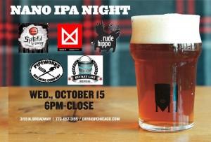 Nano IPA Night @ DryHop Brewers | Chicago | Illinois | United States
