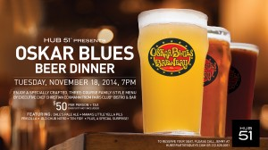 Oskar Blues Beer Dinner @ Hub 51 | Chicago | Illinois | United States