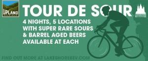 Upland Brewing Tour De Sour @ Multiple Chicago Locations