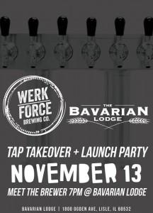 Werk Force Launch Party @ Bavarian Lodge | Lisle | Illinois | United States