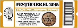 Festibarrel 2015 @ Riverview Tavern | Chicago | Illinois | United States