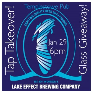 Winter Relief Lake Effect Brewing Tap Takeover @ Templestowe Pub | Chicago | Illinois | United States
