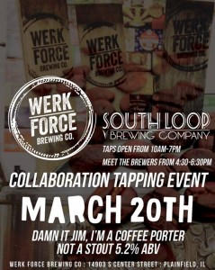 Damn It Jim Im A Coffee Collaboration Tapping @ Werk Force Brewing | Plainfield | Illinois | United States