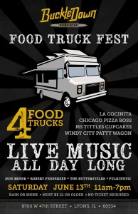 BuckleDown Food Truck Fest @ BuckleDown Brewing | Lyons | Illinois | United States
