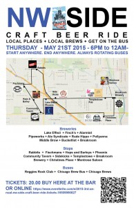 3rd Annual NW Side Craft Beer Ride @ Multiple Chicago Locations