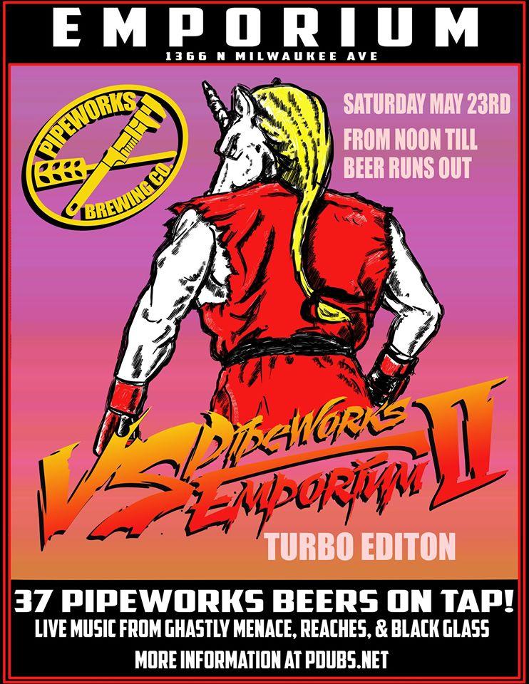 Pipeworks VS Emporium @ Emporium Arcade Bar