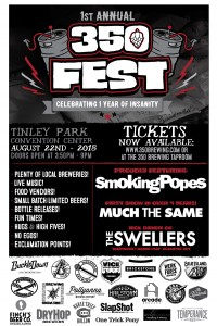 350 Fest @ Tinley Park Convention Center | Tinley Park | Illinois | United States