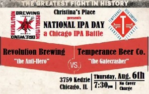 Revolution vs Temperance @ Christinas Place | Chicago | Illinois | United States