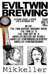 Tap This Evil Twin vs Mikkeller @ Fischmans Liquors and Tavern | Chicago | Illinois | United States