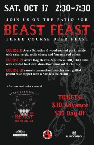Avery Beast Feast @ Rockwells Neigborhood Grill | Chicago | Illinois | United States