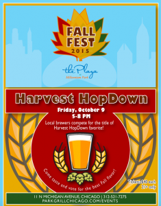 3rd Annual Harvest HopDown @ Millenium Park | Chicago | Illinois | United States