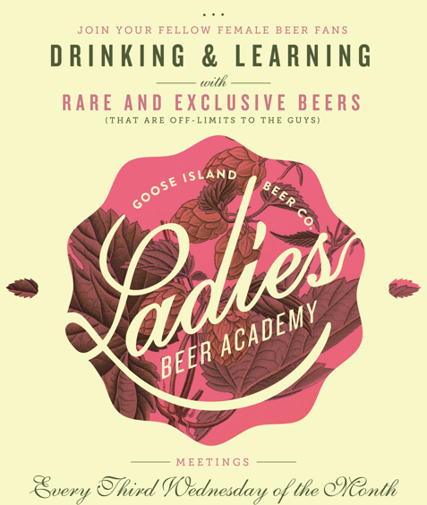 Goose Island Ladies Beer Academy @ Goose Island Beer Company | Chicago | Illinois | United States