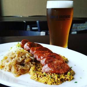 The Wurst Dinner @ Smylie Bros Restaurant and Brewery