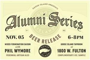 Alumni Beer Series @ Goose Island Beer Company   Chicago   Illinois   United States