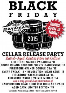 Black Friday Cellar Party @ Bavarian Lodge