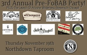 3rd Annual Pre FoBAB Party @ Northdown Cafe   Chicago   Illinois   United States