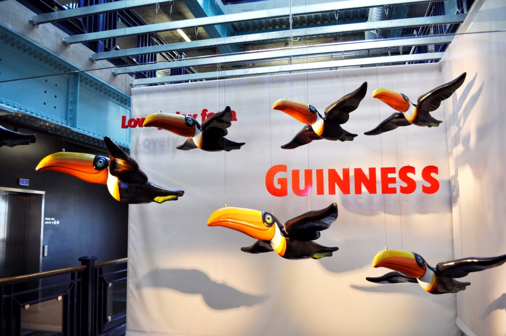 f he can say as you can, Guinness is Good for You, Just think what Toucan do