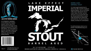 Lake Effect Barrel Aged Imperial Stout Release @ Lincoln Station | Chicago | Illinois | United States