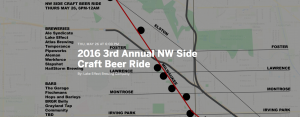 3rd Annual NW Side Craft Beer Ride @ Northwest Chicago