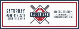 Ballpark Ale Fest Rockford @ Rivets Stadium | Loves Park | Illinois | United States